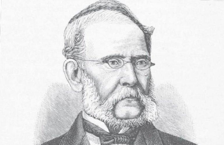 Ο Ιατρός Ιωάννης Βούρος ιδρυτής της Ιατρικής Σχολής Αθηνών.