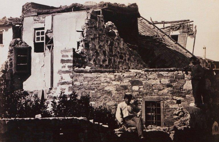 Ο Βροντάδος είναι το βορειότερο σημείο του νησιού που κατέστρεψε ο Εγκέλαδος.
