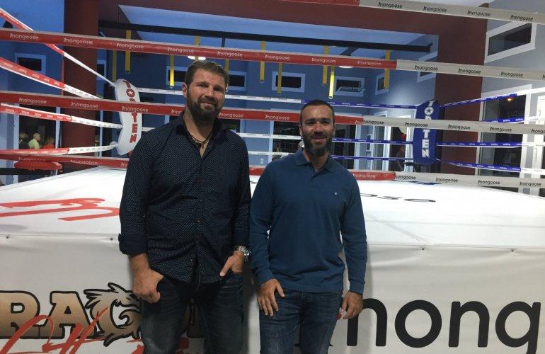 Με το συνεργάτη του Κων/νο Αθανασόπουλο