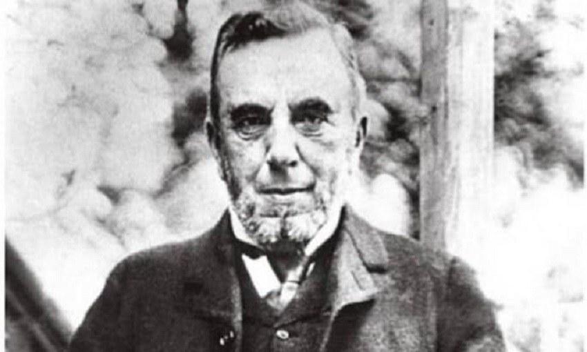 Πορτρέτο του συγγραφέα και οραματιστή Δημητρίου Βικέλα
