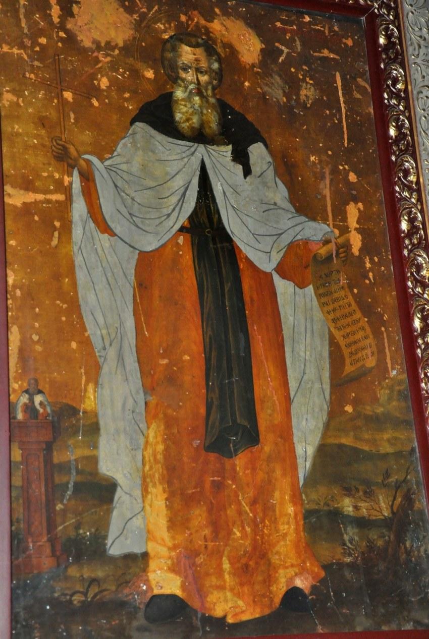 Ο Άγιος Συμεών ο Στυλίτης, άγιος του 4ου μ.Χ. αιώνα, καταγόμενος από την Κιλικία