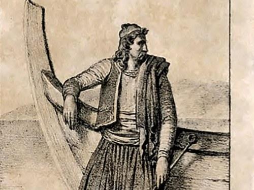 Χιώτης ναυτικός με χαρακτηριστική ενδυμασία στα χρόνια της Επανάστασης