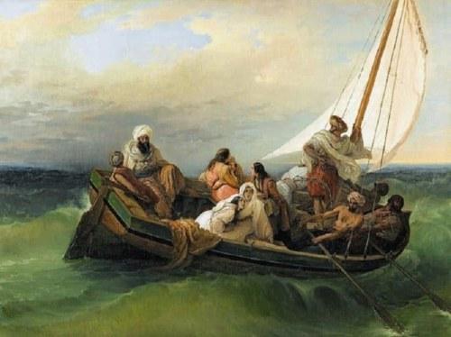 Ο πίνακας του Φραντσέσκο Άγιεζ «Φυγή από τη Χίο»