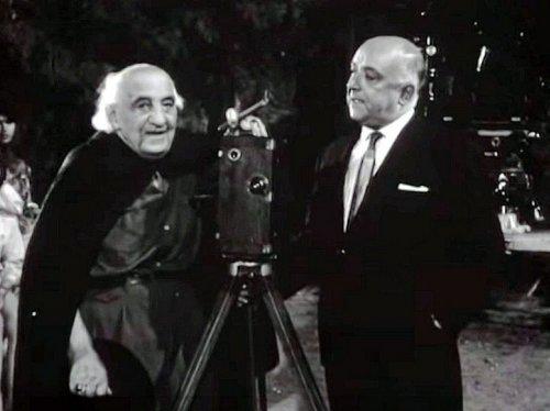 Ο Αχιλλέας Μαδράς με τον Αλέκο Σακελλάριο προς τη δύση του βίου του