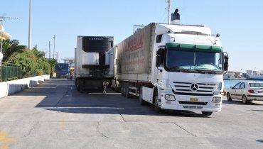 Φωτογραφία αρχείου από κεντρικό λιμάνι Χίου