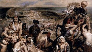 Ο γνωστός πίνακας διαστάσεων 4,20 Χ 3,50 μ. εκτίθεται στο Μουσείο του Λούβρου και αποτελεί ένα από τα δημοφιλέστερα εκθέματα του μεγαλύτερου μουσείου του Κόσμου