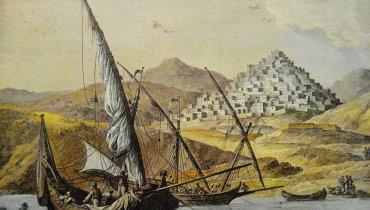 Η Σύρος πριν την Ελληνική Επανάσταση, με μόνο οικισμό αυτόν της Άνω Σύρου