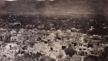 Απεικόνιση των Θυμιανών, παντού ερείπια