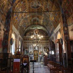 Το εσωτερικό του Ναού της Μονής Αγίου Ιωάννη Προδρόμου των Μουνδών