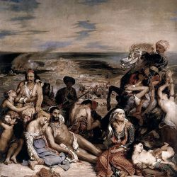 Ο γιγαντιαίος ζωγραφικός πίνακας που ανέδειξε στην Οικουμένη τη βαρβαρότητα και τον όλεθρο που υπέστη το νησί της Χίου