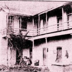 Το σπίτι του Κανάρη στην Κυψέλη, επί της οδού Κυψέλης 56 του δήμου Αθηναίων πριν την κατεδάφισή του